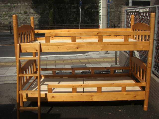 中古家具、2段ベッド ...